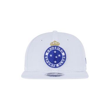 Boné Aba Reta do Cruzeiro New Era 950 OF SN Primary - Snapback - Adulto - b3d32610539