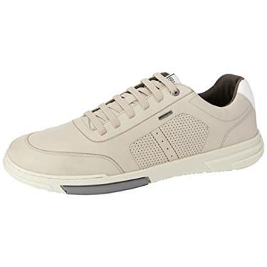 Imagem de Sapato Ferracini Dubay Branco Solado Cromo Chumbo Geada