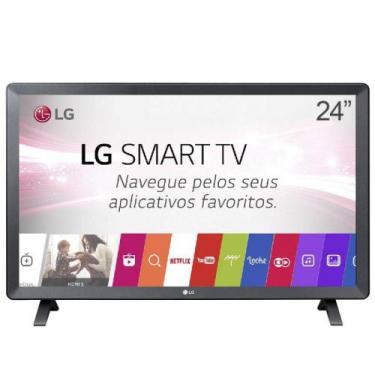 "Smart TV Monitor LG 24"" LED Wi-Fi webOS 3.5 DTV Time Machine Ready Biv"