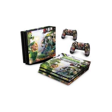 Skin Adesivo para PS4 Pro - Plants Vs Zombies Garden Warfare