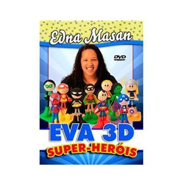 Imagem de Coleção DVD Super Heróis 3D com EVA com Edna Masan