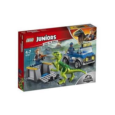 10757 Lego Juniors Jurassic World - Caminhão de Resgate de Raptor