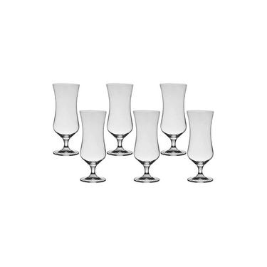 6 Taças De Cristal Para Cocktail 450ml Forum Bohemia Titânio