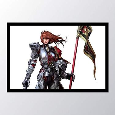 Quadro com moldura Soulcalibur Woman