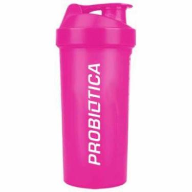 Coqueteleira rosa 700 ml probiótica