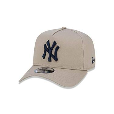 Boné New York Yankees New Era, Mlb, Masculino, Bege, U