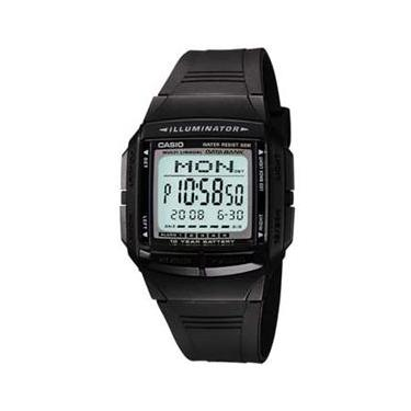 99d93e9c863 Relógio Masculino Digital Casio Data Bank DB-36-1AV - Preto