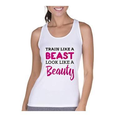 Regata Criativa Urbana Cavada Fitness Beauty Branco G