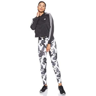Conjunto De Agasalho Adidas Wts Hoody & Tight Feminino