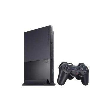 Videogame PlayStation 2 Slim Standard Black Console