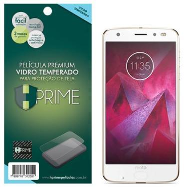 Pelicula de Vidro temperado 9h HPrime para Motorola Moto Z2 Force, Hprime, Película Protetora de Tela para Celular, Transparente