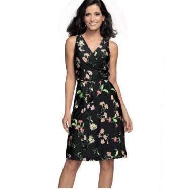 Vestido Fashion DeMillus 95510 Preto Tamanho A
