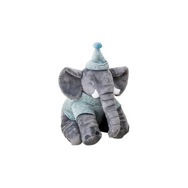 Imagem de Pelúcia Elefante Buguinha Boy 34cm - Bupbaby