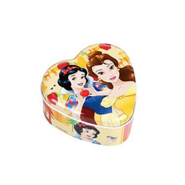 Porta Joia Lata Princesas - ETITOYS - Amarelo