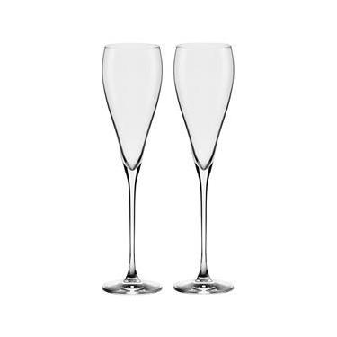 Conjunto de Taças para Espumante Oxford Alumina Crystal Athenas Classic 280 ml – 2 Peças
