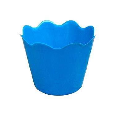 Vaso Decorativo Cachepot West Garden P Azul