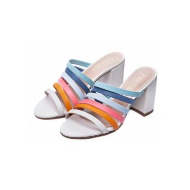 Sandália  Torricella Multicolorido  feminino