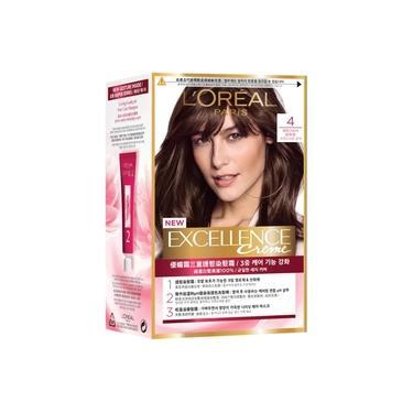 Tintura L'Oréal Imédia Excellence Creme nº 4 Castanho Natural 1 Unidade