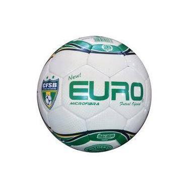 45bc9aa9c6 Bola Futsal Microfibra Euro Verde E Amarelo
