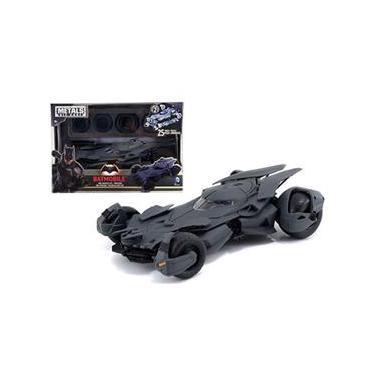 Carro Do Batman Batmobile - Metals Die Cast Preto