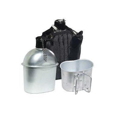 Cantil Echolife C/ Caneca De Alumínio Exercito Tático Capa