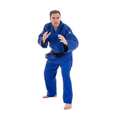 Kimono judô Mks Combat Extra Heavy Azul 950g/m2 160