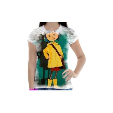 Camiseta Camisa Feminina Coraline E O Mundo Secreto Filme 2