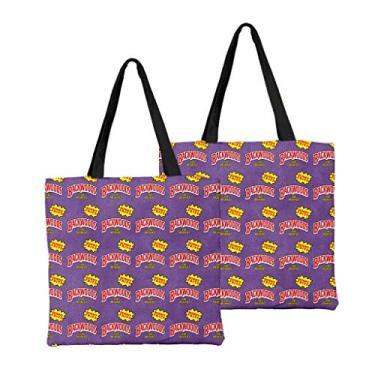 Bolsa de ombro feminina de alta capacidade, bolsa de ombro de lona, bolsa para laptop, moda urbana combinando, Macio, 18, One_Size