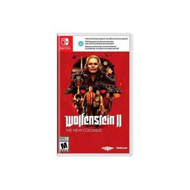 Jogo Wolfenstein II: The New Colossus - Switch