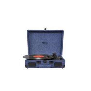 Vitrola Raveo Sonetto Onix Water Com Toca-discos/usb/bt - Reproduz E Grava Em Mp3-90-08877
