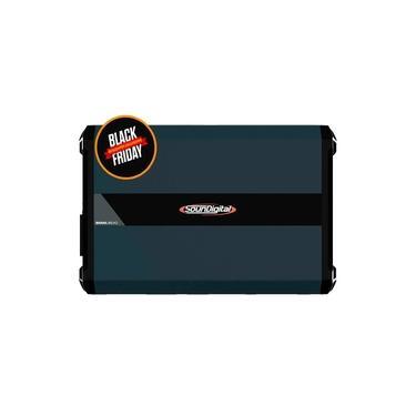 Módulo Amplificador SounDigital SD8000 1D1 EVO 4.0 8000W RMS 1 Canal 1 Ohms