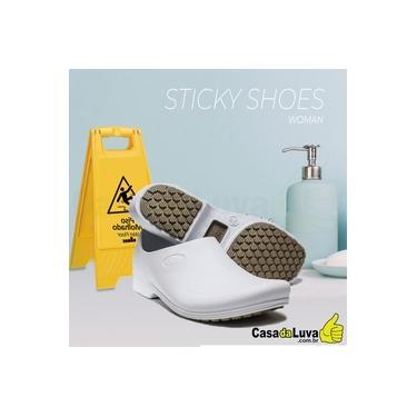 Imagem de Sapato Eva Anti Derrapante Sticky Shoes Branco Tamanho 39