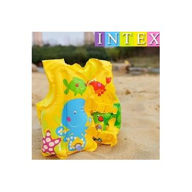 Colete Inflável Infantil Peixinhos Divertidos 59661 - Intex