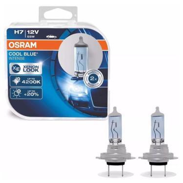 Lampada Osram H7 12V 55W Px26d Cool Blue Limited Edition Intense Par