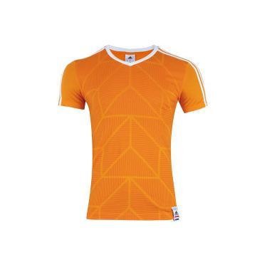 Camiseta Holanda 2018 CI adidas - Masculina - LARANJA adidas 137d673b31a43