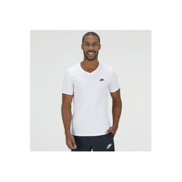 68efbbf6c2 Camiseta Nike VNK Club Embrd Ftra - Masculina - BRANCO Nike