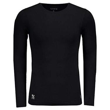 95791b1f0 Camisa Térmica Lupo Proteção UV Preta
