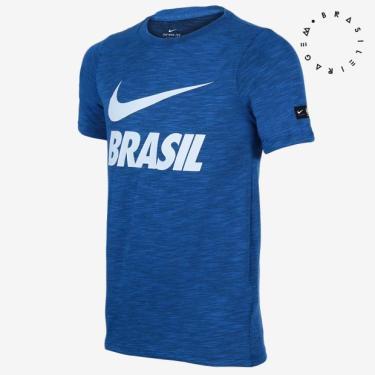 Camisas de Times de Futebol Casuais Brasil  b2d44080de90f
