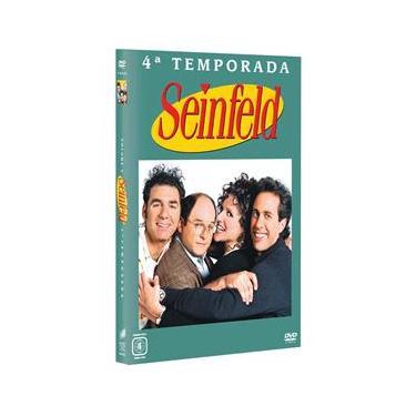 DVD - Seinfeld: 4ª Temporada - 4 Discos