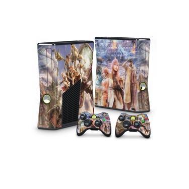 Skin Adesivo para Xbox 360 Slim - Final Fantasy Xiii #B