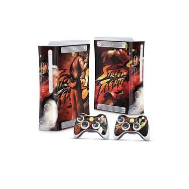 Skin Adesivo para Xbox 360 Fat Arcade - Street Fighter 4 #A