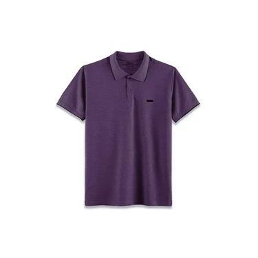 Camisa Polo Edinburgh - Uva