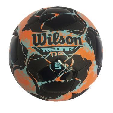 Bola Futebol No. 5 Rebar Wilson - Laranja/Preto