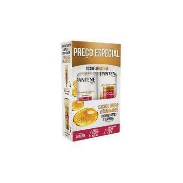 Kit Pantene Cachos Hidra-Vitaminados Shampoo + Condicionador 400mL + 175mL P&G