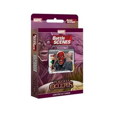 Marvel-Battle Scenes Poderes Ocultos Deck Desígnios Malignos Copag 97806