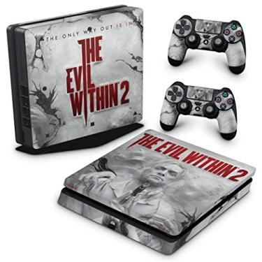 Skin Adesivo para PS4 Slim - The Evil Within 2