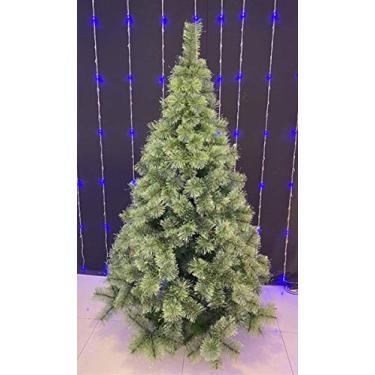 Árvore De Natal Pinheiro Neve Luxo 1,80m 420 Galhos A0318n
