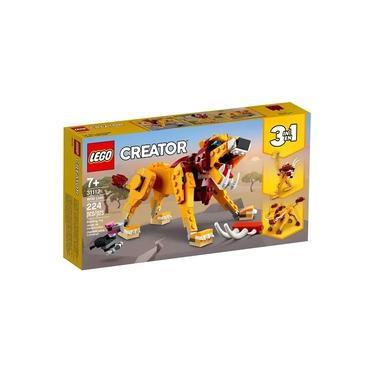 Imagem de Lego Creator 3 em 1 - Leao Selvagem 31112