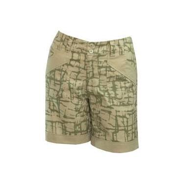 Shorts estampado Pau a Pique Verde
