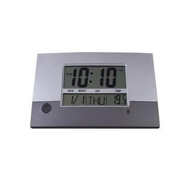 Relógio Parede Mesa Digital Herweg 6473 071 Calendario Termometro